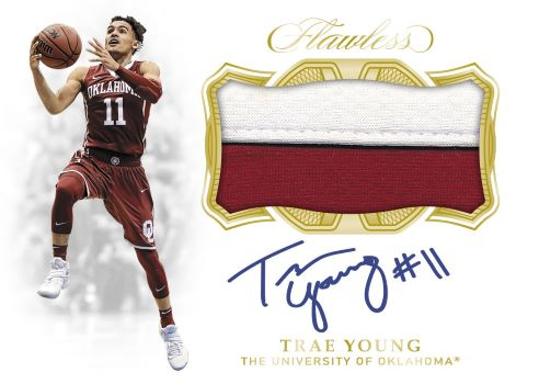 2019 Panini Flawless Collegiate Basketball Patch Autograph