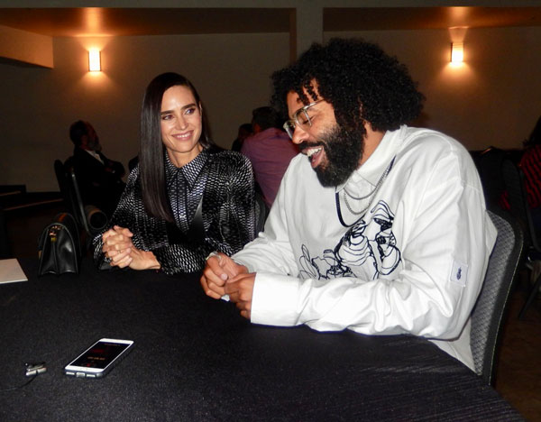 Snowpiercer's Jennnifer Connelly and Daveed Diggs at NSU interview session