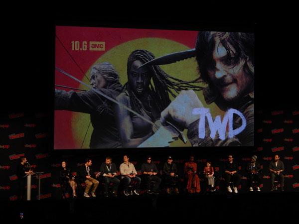 The cast of The Walking Dead Season 10