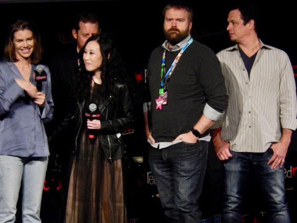 The Walking Dead's Lauren Cohan...