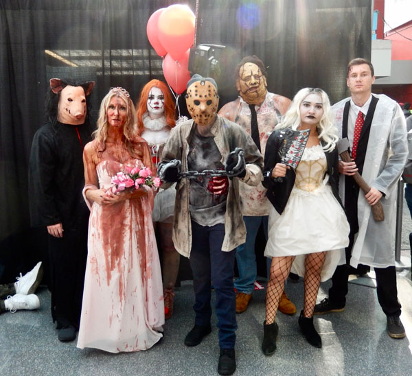 Spooky Cosplayers