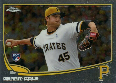 2013 Topps Chrome Update Gerrit Cole Rookie Card