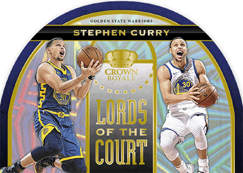 2019-20 Panini Crown Royale Basketball Lords of the Court Gold