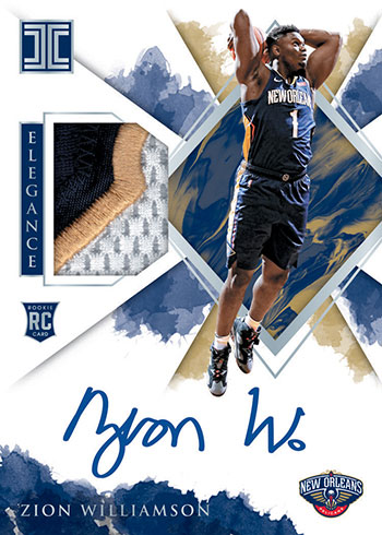 2019-20 Panini Impeccable Basketball Elegance Rookie Jersey Autographs Holo Silver