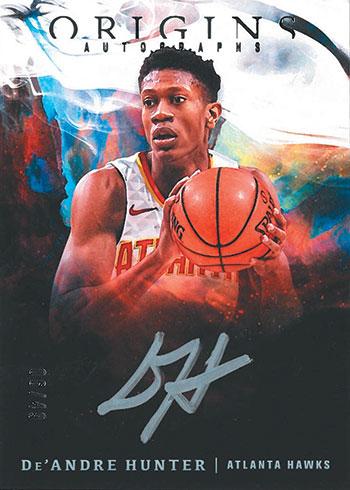 2019-20 Panini Origins Basketball Origins Autographs Silver Ink