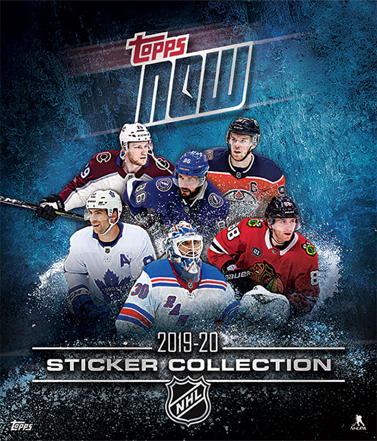 2019-20 Topps Now NHL Stickers Album