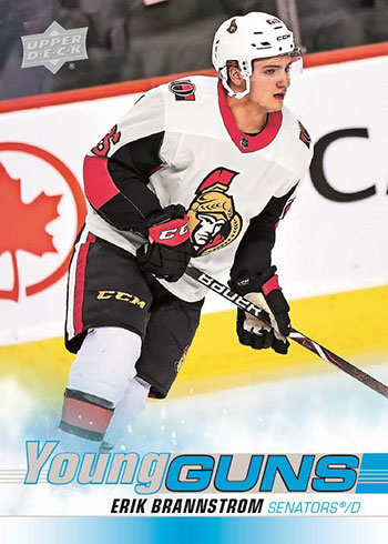 2019-20 Upper Deck Series 2 Hockey Young Guns