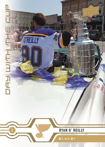 2019-20 Upper Deck Series 2 Hockey Day with the Cup