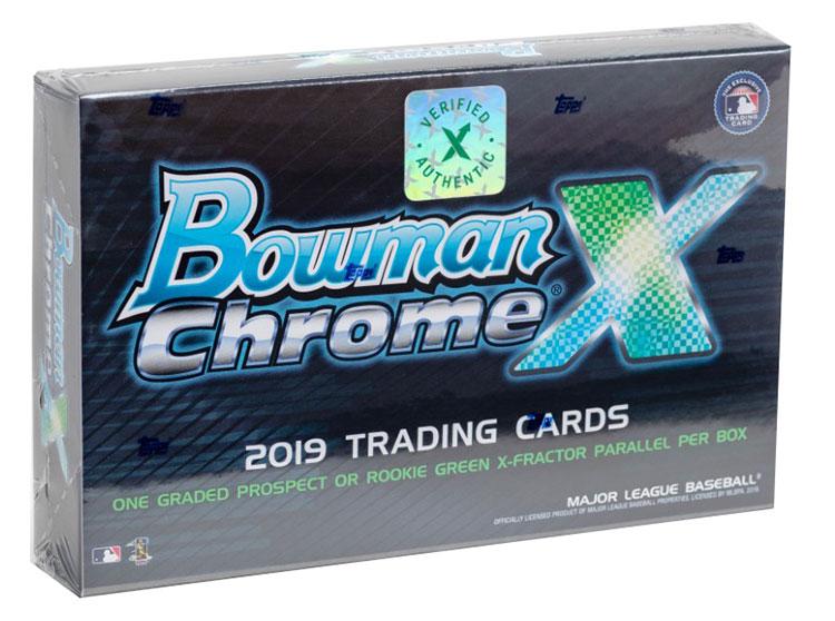 2019 Bowman Chrome X Box