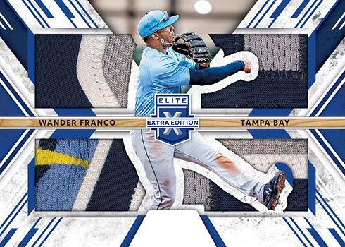 2019 Panini Elite Extra Edition Baseball Triple Silhouettes