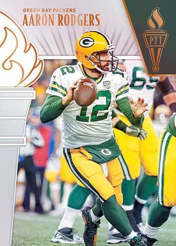 2019 Panini Passing the Torch Football Aaron Rodgers