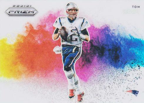 2019 Panini Prizm Football Color Blast Tom Brady