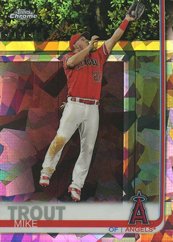 2019 Topps Chrome Sapphire Mike Trout