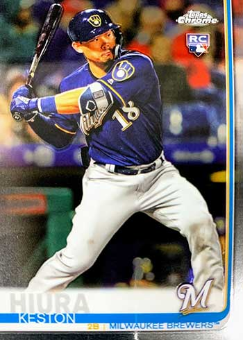 2019 Topps Chrome Update Series Baseball Keston Hiura