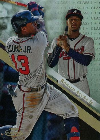 2019 Topps Gold Label Baseball Class 1 Ronald Acuna Jr.