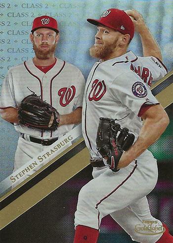 2019 Topps Gold Label Baseball Class 2 Stephen Strasburg