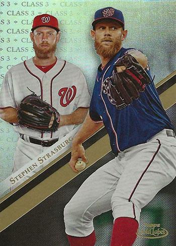 2019 Topps Gold Label Baseball Class 3 Stephen Strasburg