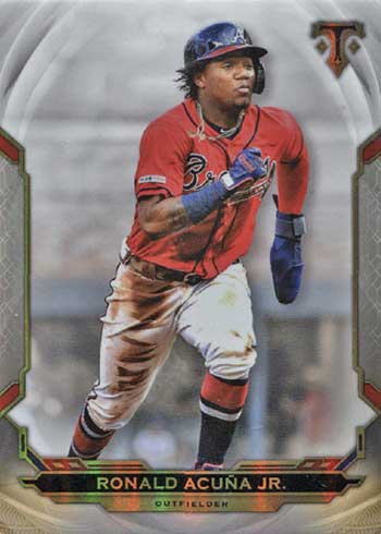 2019 Topps Triple Threads Baseball Ronald Acuna Jr.