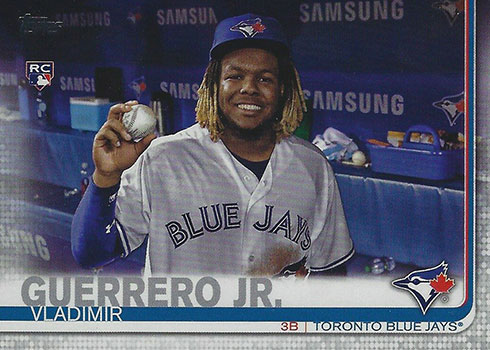 2019 Topps Update Series SPP Variations Vladimir Guerrero Jr.