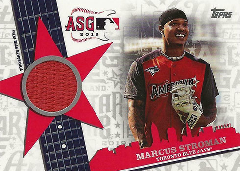 2019 Topps Update Series Baseball All-Star Stitches Marcus Stroman