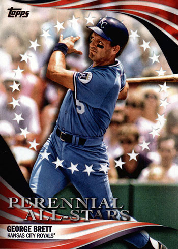 2019 Topps Update Series Baseball Perennial All-Stars George Brett