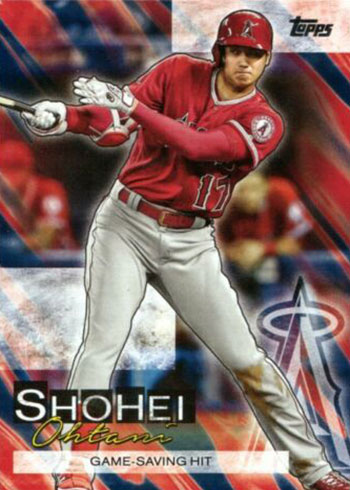 2019 Topps Update Series Baseball Shohei Ohtani Highlights