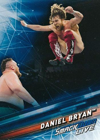 2019 Topps WWE Smackdown Daniel Bryan