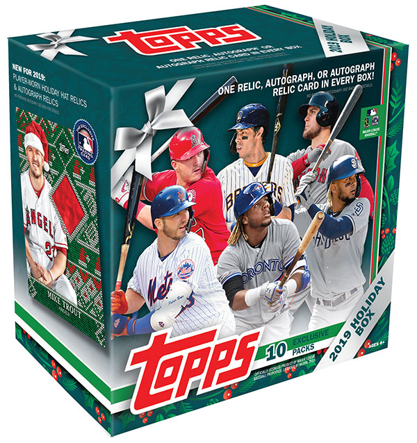 2019 Topps Walmart Holiday Box