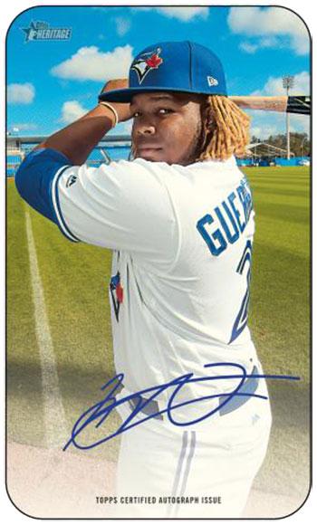 2020 Topps Heritage Baseball Super Autograph