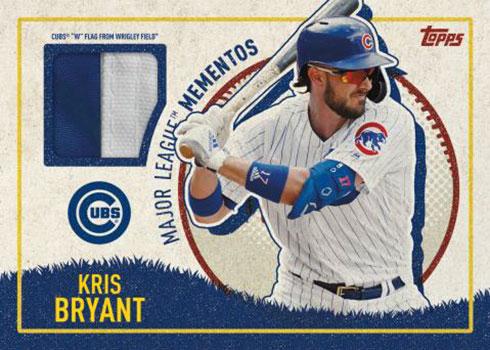 2020 Topps Opening Day Baseball Major League Mementos