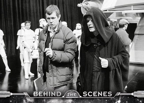 2020 Topps Star Wars: Return of the Jedi Black and White Behind the Scenes