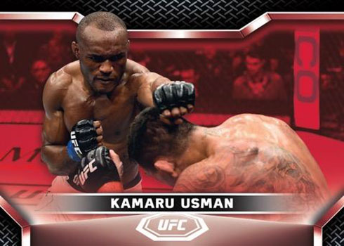 2020 Topps UFC Knockout Red