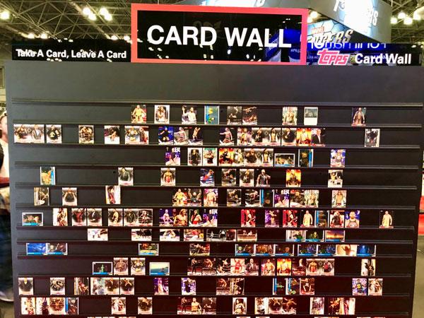 Topps Card Wall