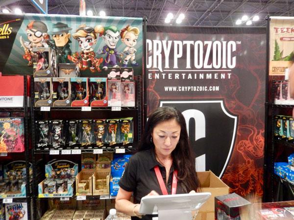 Cryptozoic Entertainment Display
