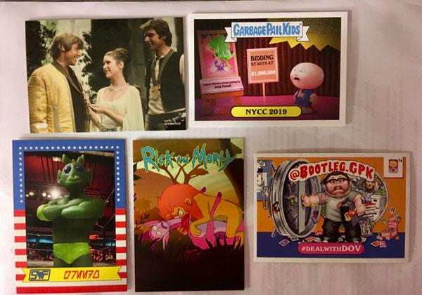 New York Comic Con Promo Cards