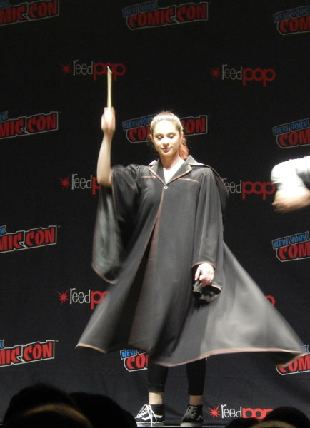 A Wizard at the Harry Potter Panel
