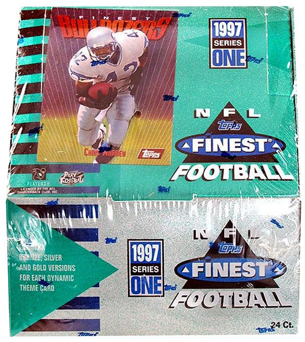 1997 Topps Finest Series 1 Football