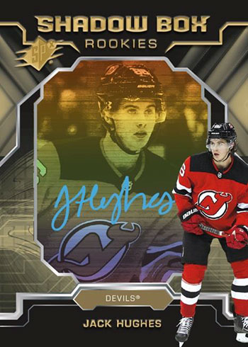 2019-20 SPx Hockey Shadow Box Rookies Autographs