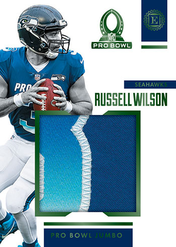 2019 Panini Encased Football Pro Bowl Jumbo