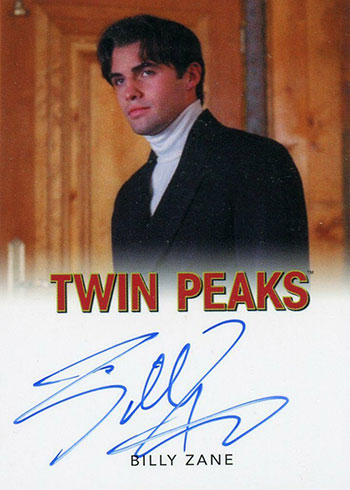 2019 Rittenhouse Twin Peaks Archives Classic Autographs Billy Zane