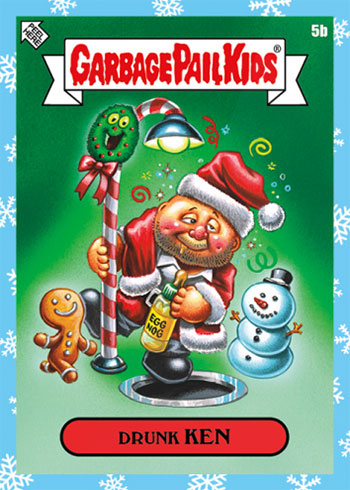 2019 Topps Garbage Pail Kids We Hate the Holidays
