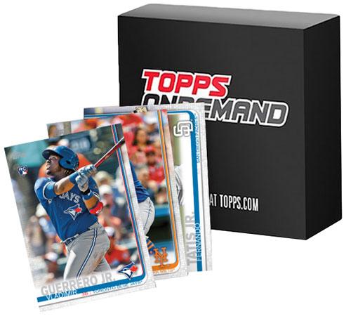 2019 Topps Mini Baseball