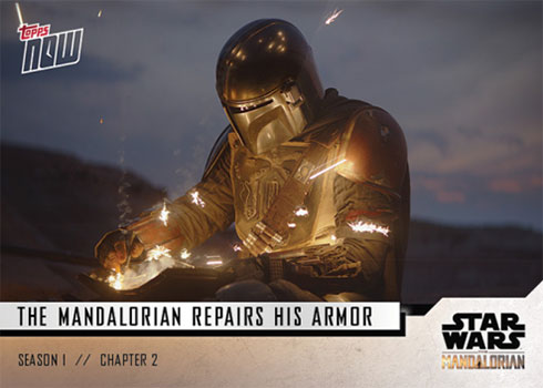 2019 Topps Now Star Wars: The Mandalorian 7