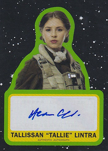 2019 Topps Star Wars: Journey to the Force Awakens Hermione Corfield Autograph