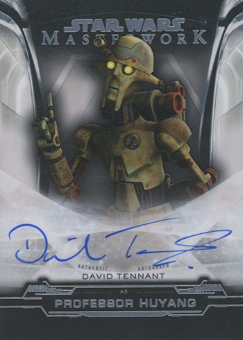 2019 Topps Star Wars Masterwork Autographs David Tennant