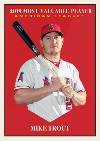 2019 Topps Throwback Thursday 278 Mike Trout