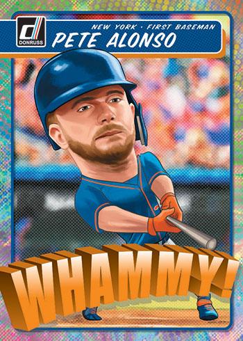 2020 Donruss Baseball Whammy