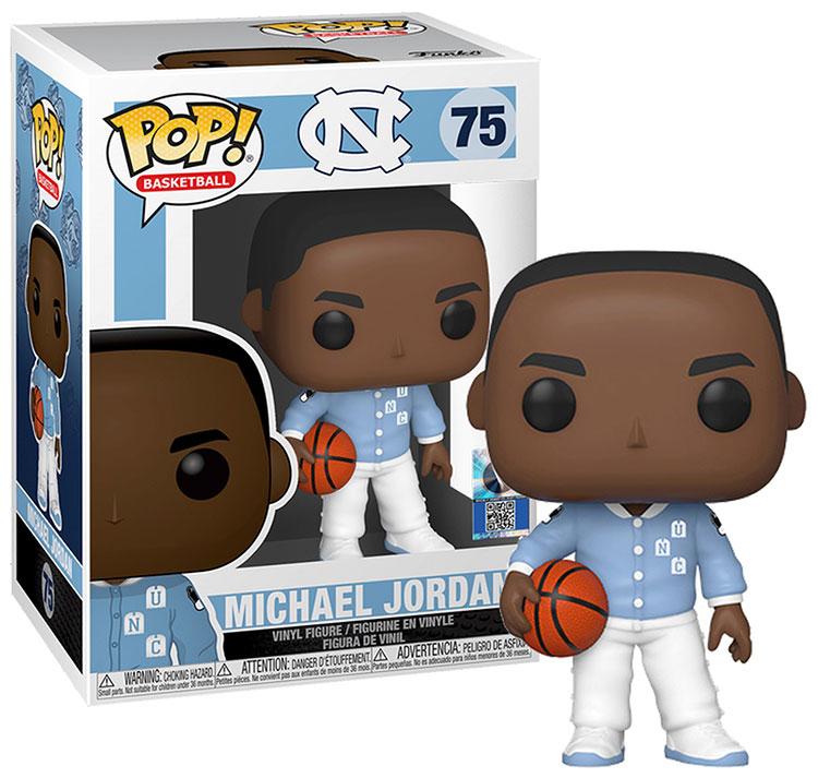 Funko POP Michael Jordan University of North Carolina - 75 Warm-Ups