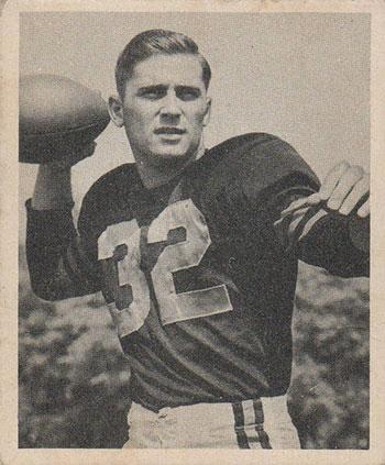 1948 Bowman Johnny Lujack