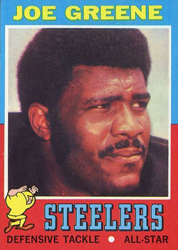 1971 Topps Joe Greene Rookie Card